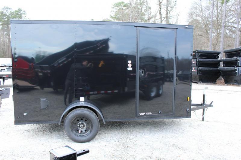 2020 Continental Cargo 6X12 w/ Ramp Door