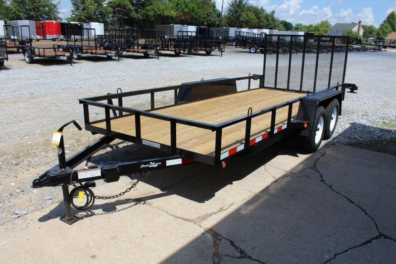 2019 Down 2 Earth 16ft Utility Trailer w/ Gate