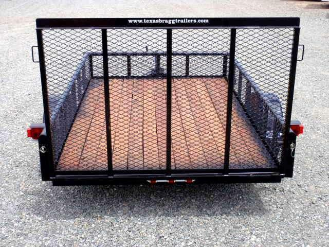 2017 Texas Bragg 6x10P w/ Expanded Sides & Gate