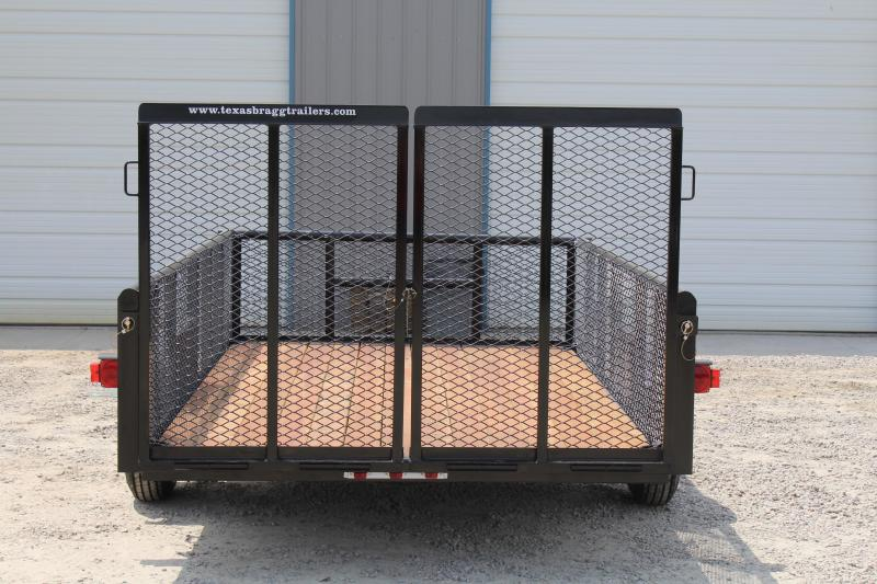 2017 Texas Bragg 6X10P w/ 2ft Expanded Sides & Gate