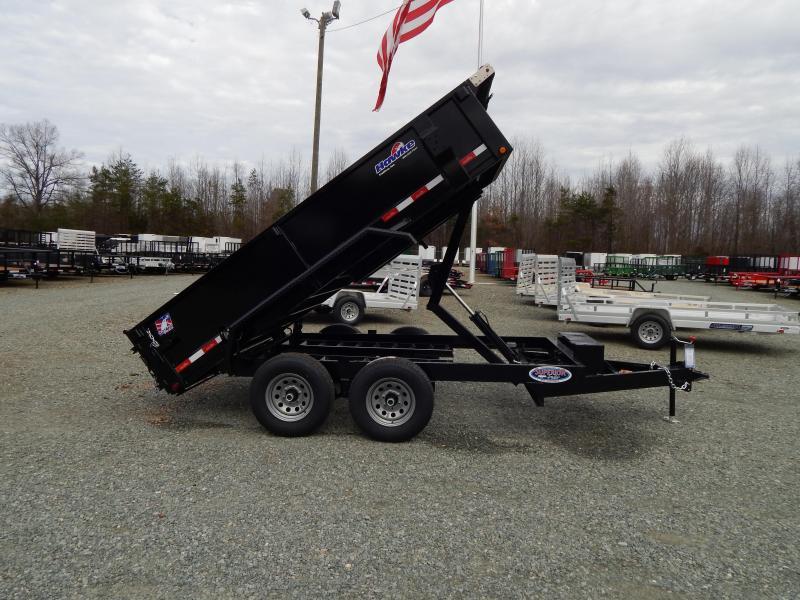 2019 Hawke 6X12 10K Dump w/ Spreader Gate Ramps & Tarp