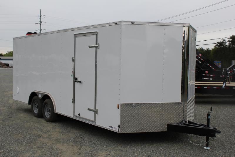 2019 Continental Cargo 8.5X20 7K w/ Ramp Door in Longs, SC