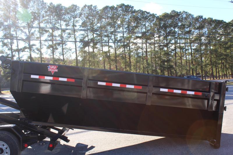 2018 PJ Trailers 7X14 DR 14K Roll Off Dumpster Trailer