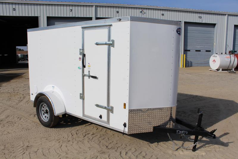 2020 Continental Cargo 5X10 w/ Double Rear Doors in Hollister, NC