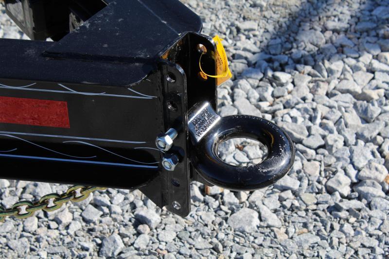 2019 PJ Trailers 24ft F8 14K Deckover w/Fold Up Ramps