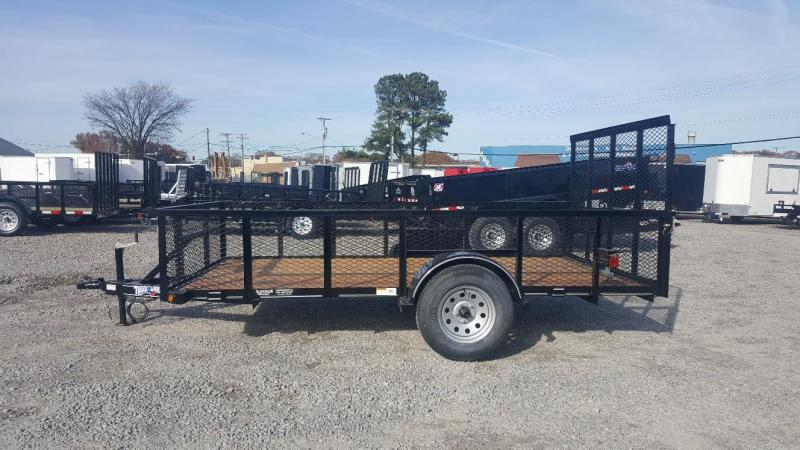 2018 Texas Bragg 6X12ST w/ Expanded Sides & Gate