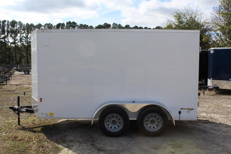 2020 Continental Cargo 6x12 7K w/ Double Door