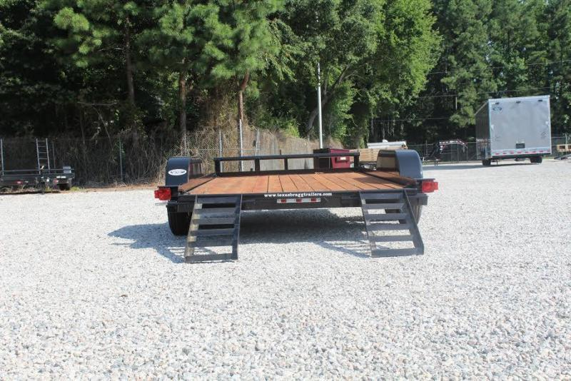 2017 Texas Bragg Trailers 14 LCH Car Trailer