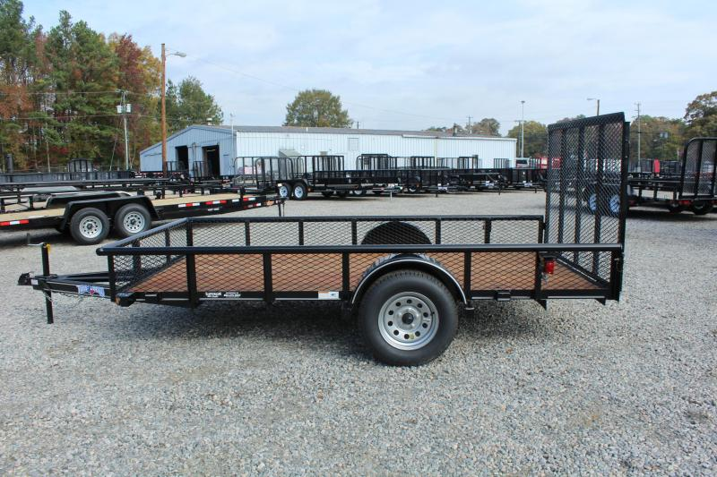 2017 Texas Bragg Trailers 6X12P w/ Expanded Sides & Gate