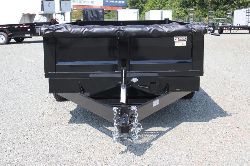2019 Hawke 7x14 12K Dump w/ Spreader Gate Ramps & Tarp