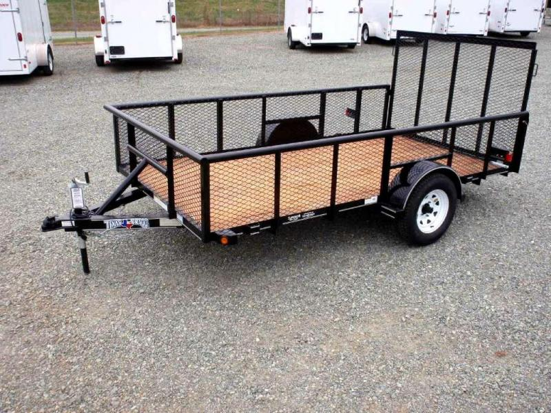 2017 Texas Bragg Trailers 6X12P 2ft Expanded Sides Utility Trailer
