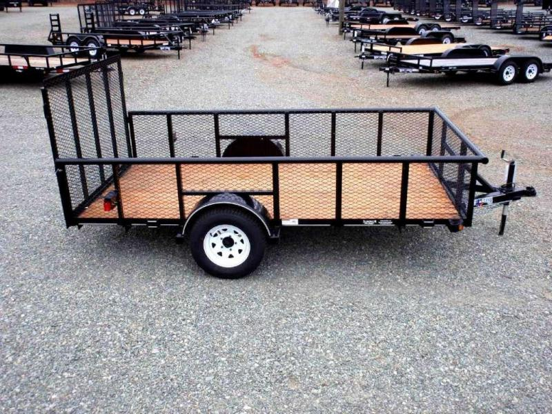 2017 Texas Bragg Trailers 6X12P 2ft Expanded Sides & Gate