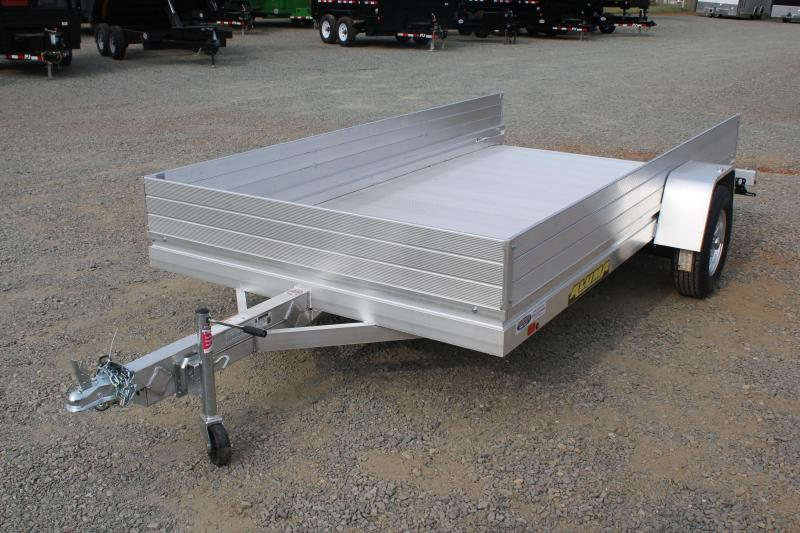 "2020 Aluma 7212HSLR w/ 12"" Sides & Slide Out Ramp"