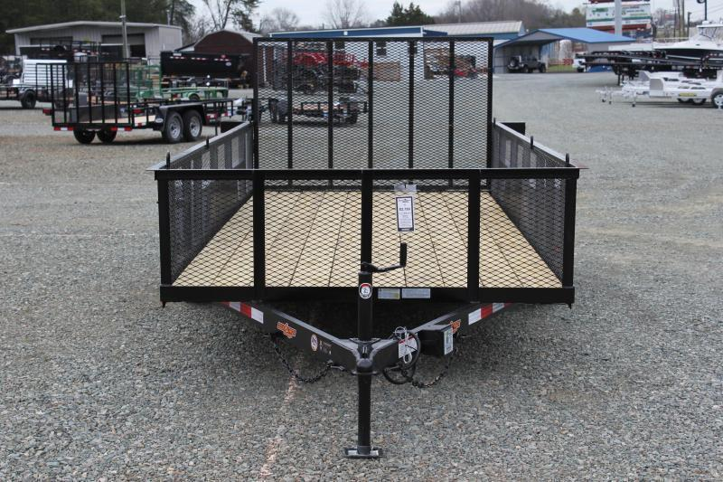2019 Down 2 Earth 16ft w/ 2ft Expanded Sides & Gate