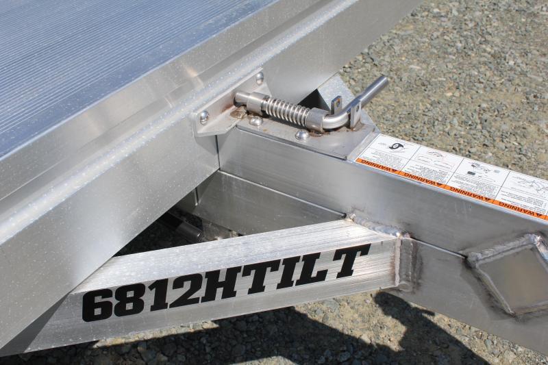 2020 Aluma 6812H Tilt Utility Trailer