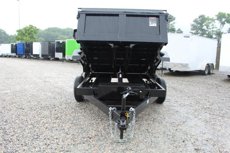 2019 Hawke 6X10 7K Dump w/ Spreader Gate and Ramps
