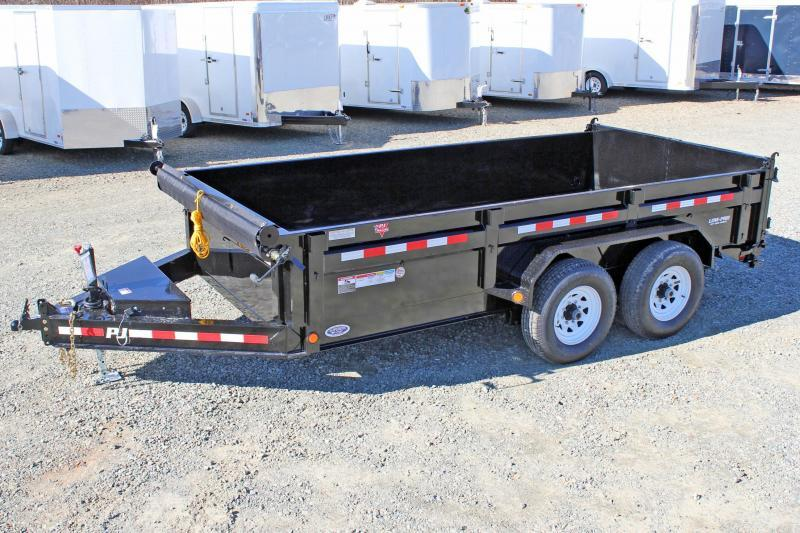 2018 PJ Trailers 7X14 DL 14K  Low Pro Dump