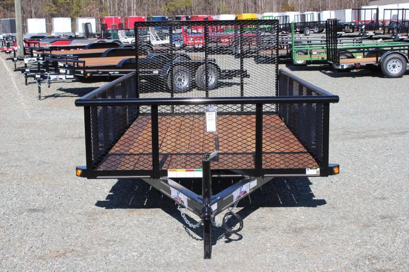 2019 Texas Bragg 6x12P w/ 2ft Expanded Sides & Gate