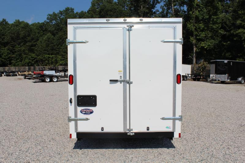 2020 Continental Cargo 7X12 w/ Double Rear Door