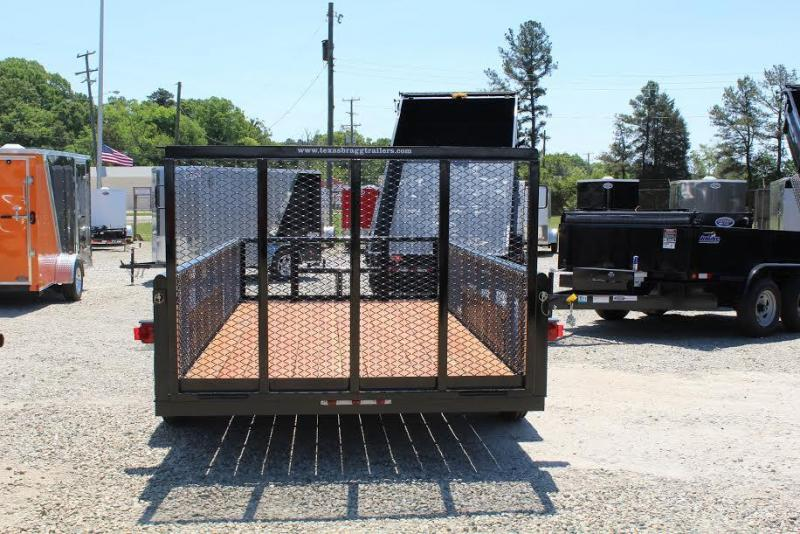 2018 Texas Bragg Trailers 14P Utility Trailer w/Expanded Metal Sides