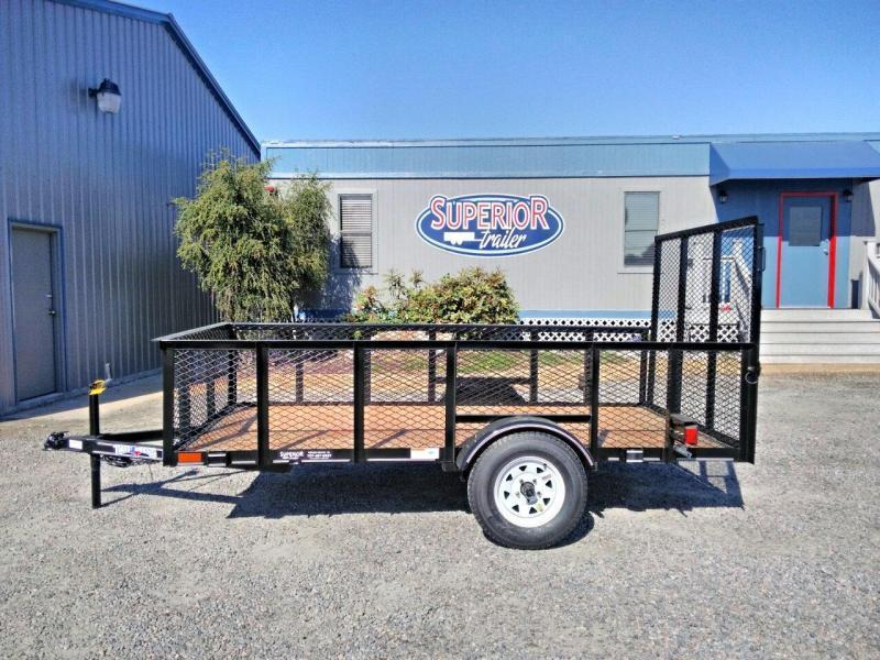 2019 Texas Bragg 5X10LB w/ 2ft Expanded Sides & Gate