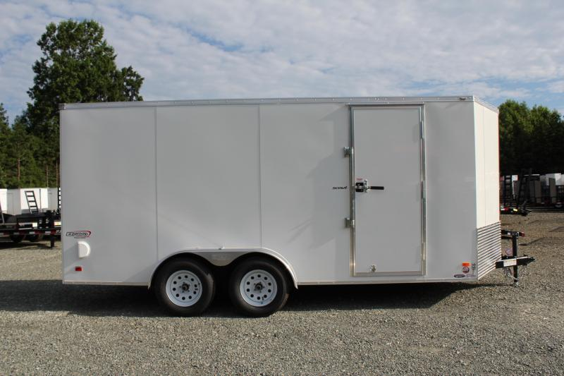 2019 Bravo Scout 7x16 w/ Ramp Door