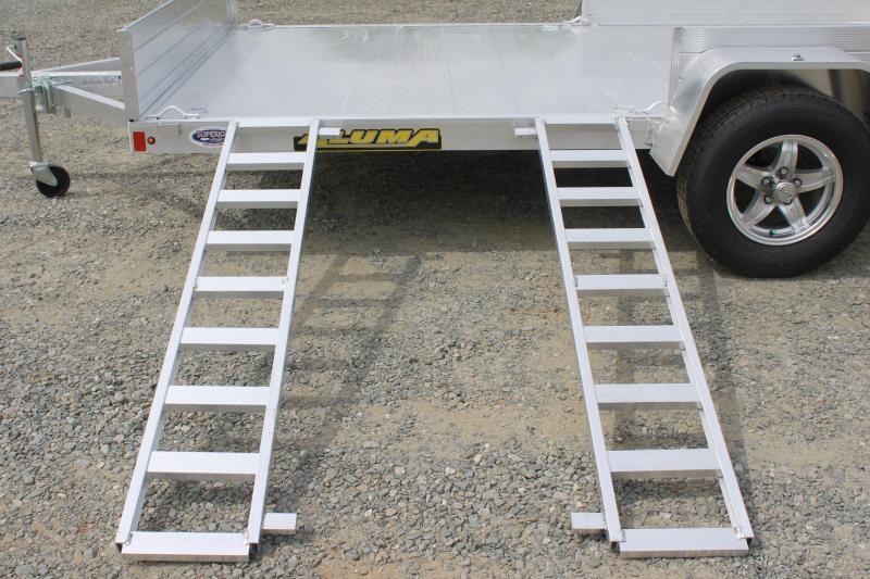 2019 Aluma 8114SR w/ Side Ramps Sides & Bi-Fold Tailgate