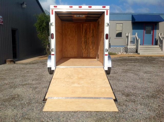 2019 Continental Cargo 6X10 w/ Ramp Door