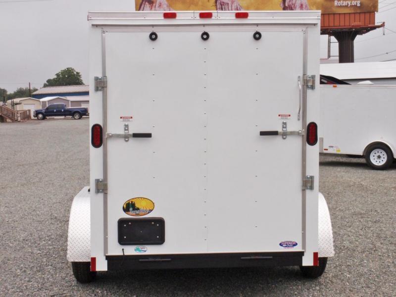 2019 Continental Cargo 6X12 7K w/ Ramp Door