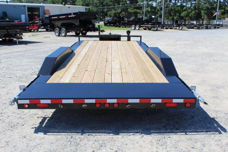 2020 PJ 20ft B5 10K w/ Rear Slide in Ramps