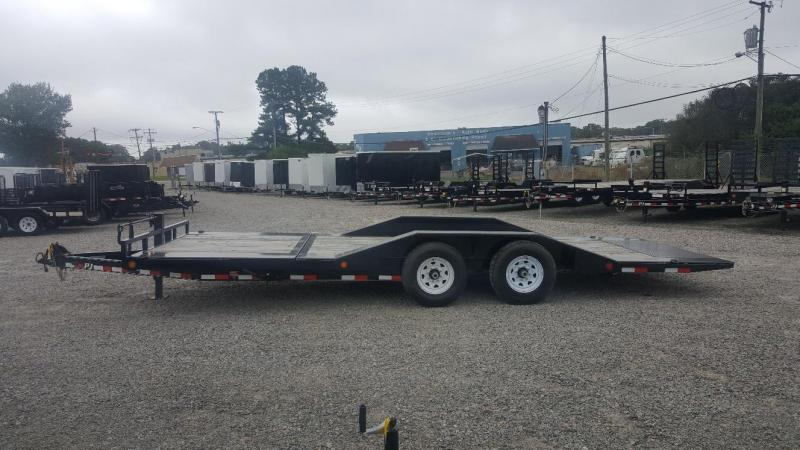 2019 PJ Trailers 22' TS 14K Tilt Equipment Trailer