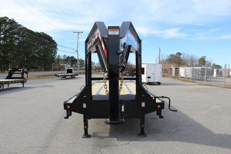 2019 PJ 40ft  LY Low Pro Gooseneck w/Hydraulic Dovetail