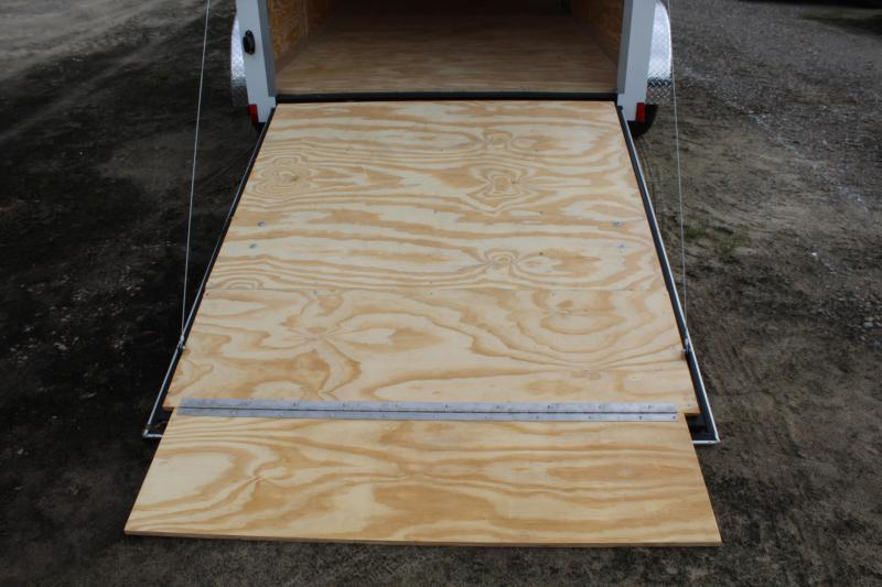 2020 Continental Cargo 6X12 7K w/ Ramp Door