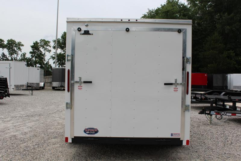 2019 Haulmark Passport 7x14 w/ Ramp Door