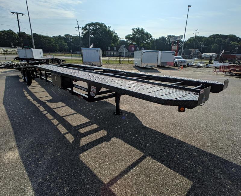 2019 Take 3 48' Ultra Low Pro Wedge 3 Car Trailer w/ Winch Prep