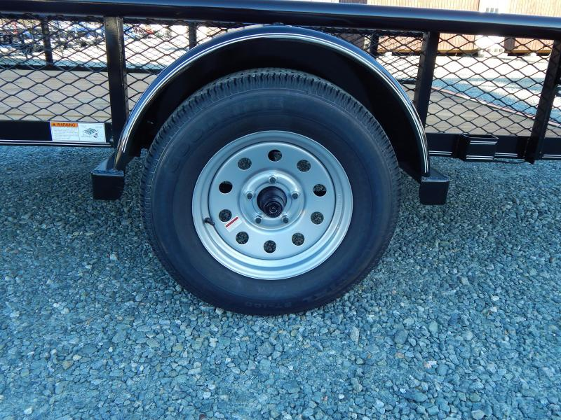 2019 Texas Bragg 6x10P w/ Expanded Sides & Gate