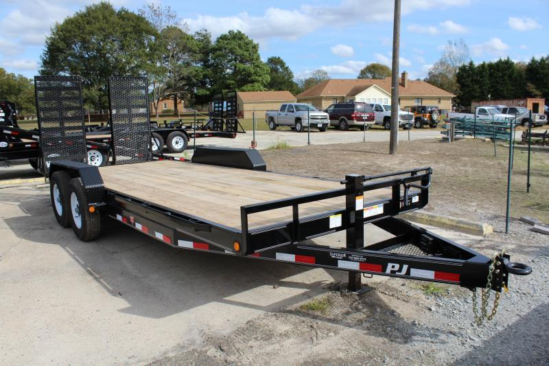 2019 PJ Trailers 20ft CC 14K Equipment Trailer w/Fold Up Ramps in Ashburn, VA