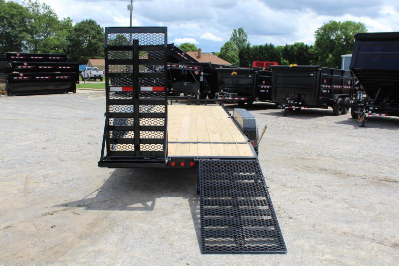 2019 PJ Trailers 20ft CC 14K Equipment Trailer w/Fold Up Ramps