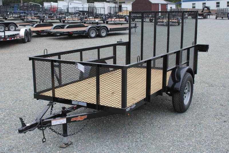 2019 Down 2 Earth Trailers 5X10 2ft Expanded Sides & Gate