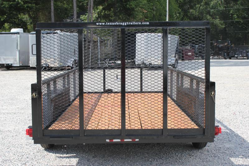 2019 Texas Bragg 14LD w/ 2ft Expanded Sides And Gate