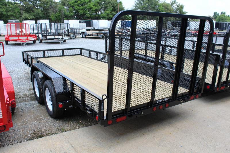 2019 PJ Trailers 16ft UK 7K Utility Trailer