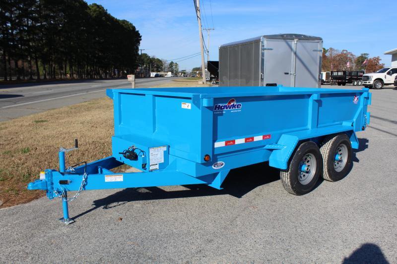 2019 Hawke 6X12 10K Dump w/ Spreader Gate & Ramps
