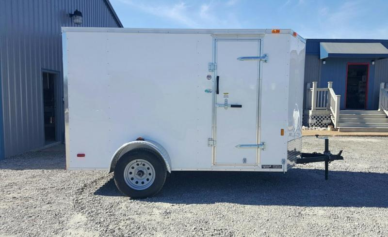 2018 Continental Cargo 6X10 Special w/ Ramp Door