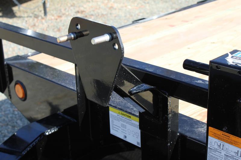 2018 PJ Trailers 26 F8 14K Deckover w/ Fold Up Ramps