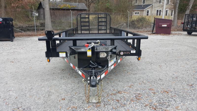 2018 PJ Trailers PJ 20ft P7 10K Utility Trailer