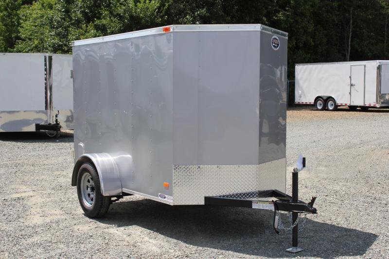 2019 Bravo Hero 5x8 w/ Extra Height & Single Swing Door