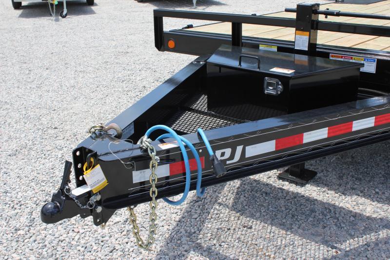 2019 PJ Trailers 22ft T8 14K Tilt Equipment Trailer