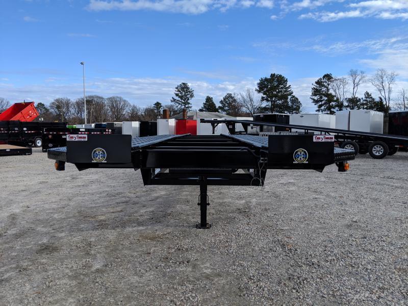 2019 Take 3 48' Ultra Low Pro Wedge 3 Car Trailer