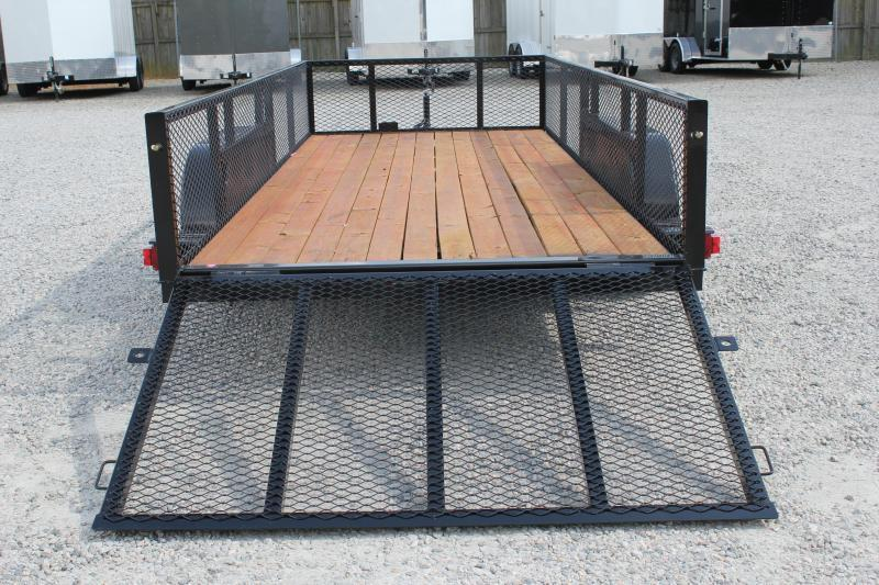 2019 Texas Bragg 16LD w/ 2ft Expanded Sides & Gate