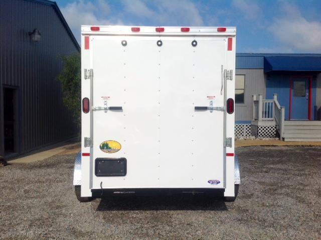 2019 Continental Cargo 6X10 w/ Ramp Door